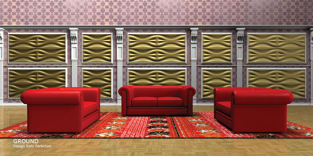 GROUND  design Italo Pertichini